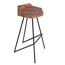 Ber-hex bárszék, tömör tölgy ülőrésszel - FLAME furniture Inc.