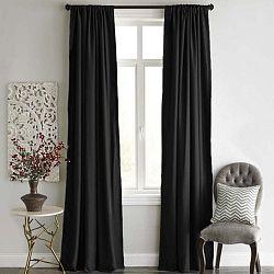 Blackout Curtain fekete sötétítő függöny, 140x240cm - Home De Bleu