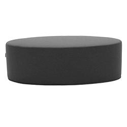 Bon-Bon Felt Melange Grey sötétszürke puff, hosszúság 120 cm - Softline