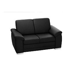 Bossi fekete kétszemélyes kanapé - Florenzzi