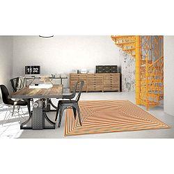 Braid narancssárga fokozottan ellenálló szőnyeg, 133 x 190cm - Floorita