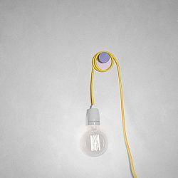 Cable sárga textilkábel foglalattal - Filament Style