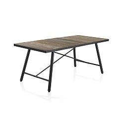 Capri fa étkezőasztal fém lábszerkezettel, 150 x 90 cm - Geese