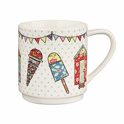 Caravan Beach Huts 2 db csontporcelán bögre, 320 ml - Churchill China