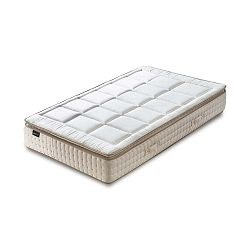 Cashmere fehér matrac krémszínű szegéllyel, 80 x 200 cm - Bobochic Paris