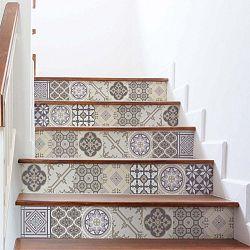 Champetre 2 darabos lépcsőmatrica készlet, 105 x 30 cm - Ambiance