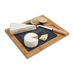Cheese 2 részes vágódeszka és sajtvágó kés szett - Premier Housewares