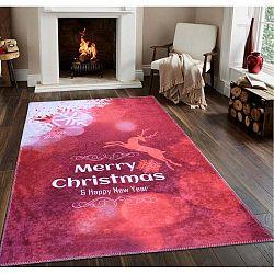 Christmas piros futószőnyeg, 80 x 200 cm - Vitaus