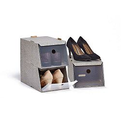 Cipőtároló doboz, 3 db - Domopak