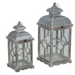 Circle lámpás fenyőfa konstrukcióval, 2 darab - Mauro Ferretti