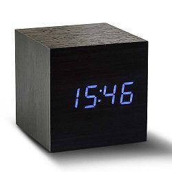 Click Clock Maxi Black ébresztőóra LED kijelzővel - Gingko