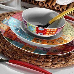 Color David 24 darabos porcelán étkészlet