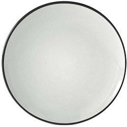 Cosmos fekete desszertes tányér, ⌀ 20 cm - Price & Kensington