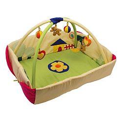 Crawling összecsukható játszószőnyeg kerítéssel - Legler