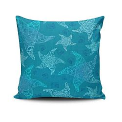 Cushion Love Azulo pamut keverék párnahuzat, 45 x 45 cm
