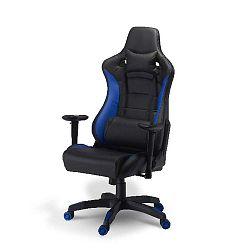 De Luxe Swivel Blu irodai szék - Furnhouse
