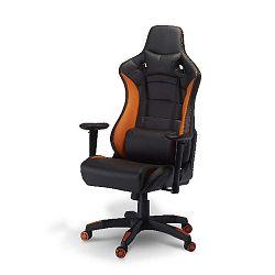 De Luxe Swivel Orange irodai szék - Furnhouse