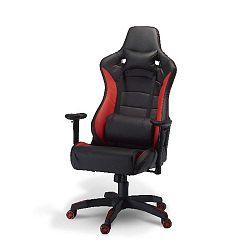 De Luxe Swivel Red irodai szék - Furnhouse