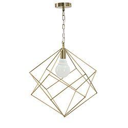 Divina aranyszínű mennyezeti lámpa vasból - Mauro Ferretti