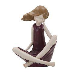 Dolly dekorációs szobor, magasság 18 cm - Mauro Ferretti