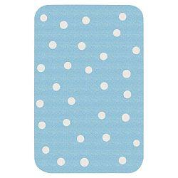 Dots kék gyerekszőnyeg, 67 x 120 cm - Zala Living