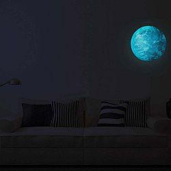 Earth sötétben világító matrica - Ambiance