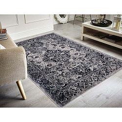 Edessa Grey Black folttaszító szőnyeg, 200x290cm - Floorita
