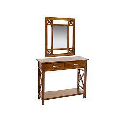 Elegance tükrös fésülködőasztal mindi fából - Santiago Pons