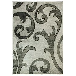 Elude Grey szürke szőnyeg, 160 x 230 cm - Flair Rugs