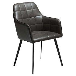 Embrace Vintage sötétszürke műbőr szék - DAN-FORM Denmark