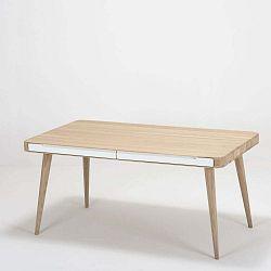 Ena Two tölgy étkezőasztal, 140 x 90 x 75 cm - Gazzda