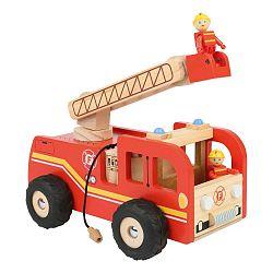 Engine tűzoltóautó 2 bábuval - Legler