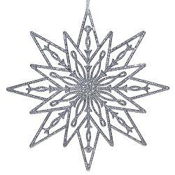 Estrella felfüggeszthető ezüst színű dekoráció - Ewax