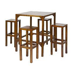 Fabio mindifa bárasztal 4 székkel - Santiago Pons