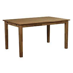 Finnus tömör tölgyfa étkezőasztal, 140 x 90 cm - Folke