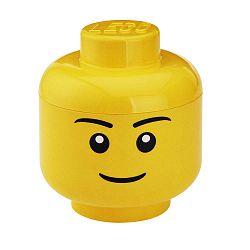 Fiú minifigura fejformájú tároló, Ø 16,3 cm - LEGO®