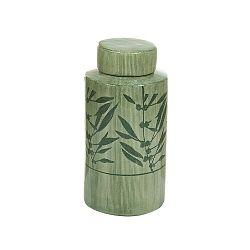 Florist zöld kerámia váza, magassága 25 cm - Santiago Pons
