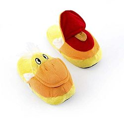 Fluffy Slippers Duck otthoni gyerekpapucs, L méret - InnovaGoods