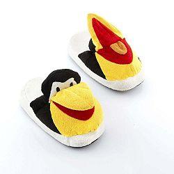 Fluffy Slippers Penguin otthoni gyerekpapucs, L méret - InnovaGoods
