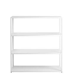 Form Hyllermetal fehér könyvespolc, magasság 110 cm - Custom