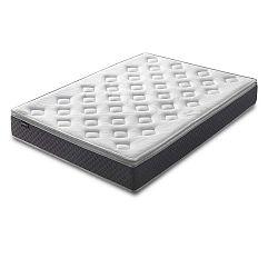 Fraicheur fehér matrac szürke szegéllyel, 140 x 190 cm - Bobochic Paris