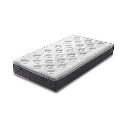 Fraicheur fehér matrac szürke szegéllyel, 90 x 200 cm - Bobochic Paris