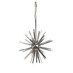 Funchal ezüstszínű mennyezeti lámpa, Ø 56 cm - Artelore