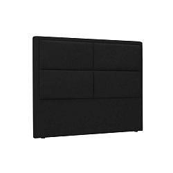 Gala fekete háttámla, 140 x 120 cm - HARPER MAISON