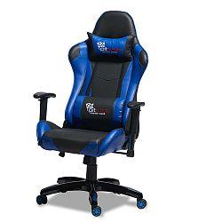 Gaming fekete-kék ergonomikus irodai szék - Furnhouse