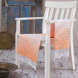 Gokkusagi narancssárga Hamam fürdőlepedő, 100 x 180 cm - Confetti