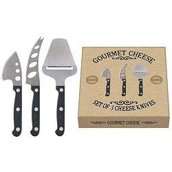 Gourmet Cheese 3 részes sajtkés szett - Creative Tops