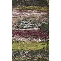 Green Abstract szőnyeg, 80 x 150 cm - Eco Rugs