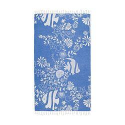 Helene kék hammam fürdőlepedő, 165x100cm - Kate Louise