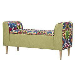 Hippie ülőpad gumifa lábakkal, 114 x 58 cm - Mauro Ferretti